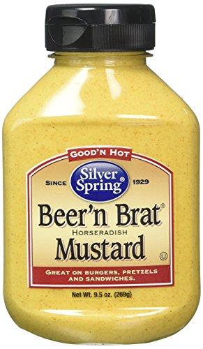 Silver Springs Mustard Beer & Brat