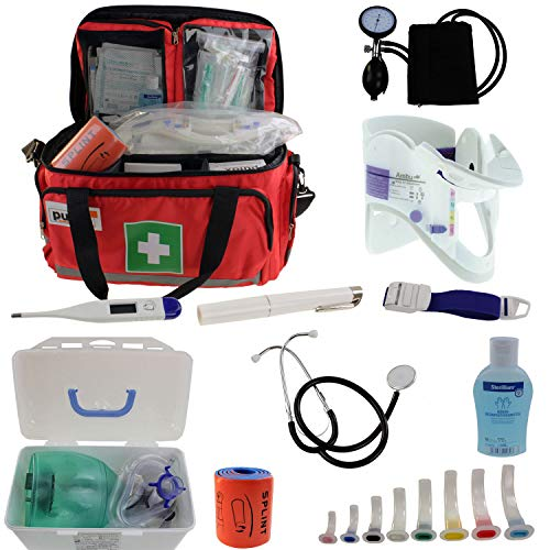 Notfalltasche Pulox Erste Hilfe Tasche - Erste Hilfe Set 44 x 27 x 25cm (Set)