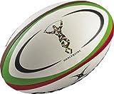 Ballon rugby Harlequins - Réplica T5 - Gilbert