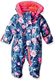 Wippette Baby Girls Floral Snowsuit Pram, Navy, 3/6M