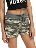 SweatyRocks Camouflage Women's Workout Yoga Hot Shorts