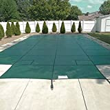 Happybuy Pool Safety Cover Fits 20x40ft Rectangle Inground Safety Pool...