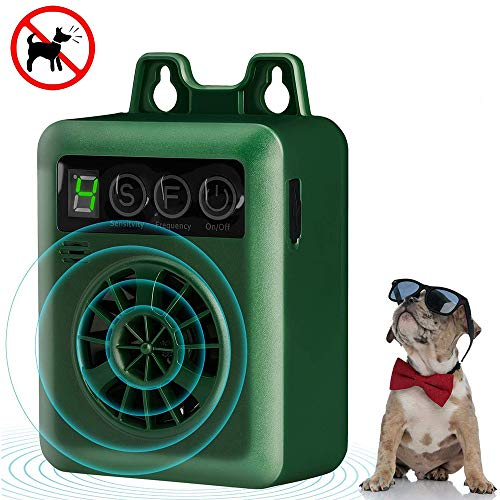 funfunfly Ultrasonic Anti Barking Device,2020 New Stop Dog Barking Control Devices with Outdoor Indoor Up to 50 Feet Range& 100%...