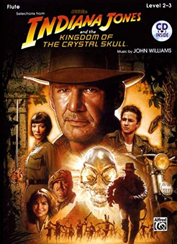 Indiana Jones and the Kingdom of the crystal Skull (+CD) : for flute