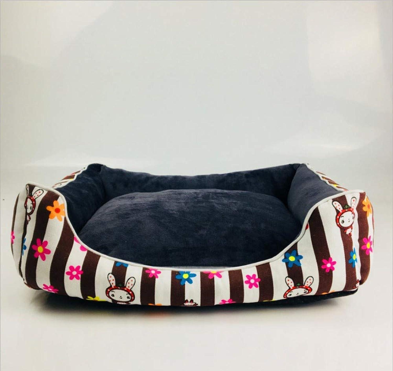 GZDXHN Dog House Cotton Nest Warm Removable And Washable Kennel Mat Cat Litter Pet Nest Pet Supplies