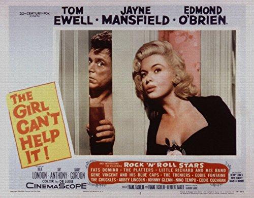 The Girl Cant Help It, Tom Ewell, Jayne Mansfield, Edmond OBrien, 1956 - Foto-Reimpresión película Posters 32x25 pulgadas - sin marco