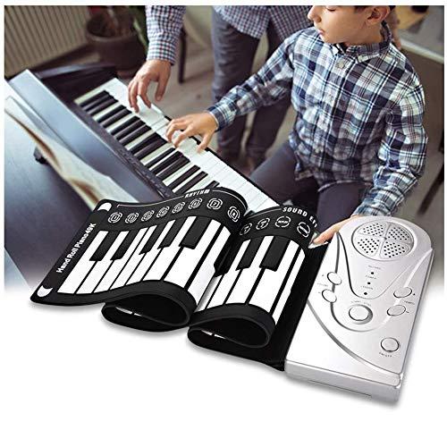 Dr.Lefran 49 Keys Roll Up Piano, ianoforte elettronico Flessibile Portatile Flessibile del Piano della Tastiera di Digital Digital Piano, Altoparlante Incorporato