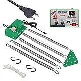 Columpio eléctrico para bebé, controlador de balancín para colgar, con temporizador ajustable para cuna y hamaca para bebés (separar)