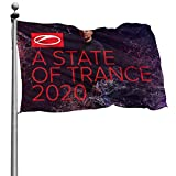 ValerieGHill Armin Van Buuren A State of Trance 2020 Durable Decorations Flag 3D Printing Family Flags 4x6 Inch