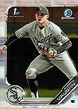 2019 Bowman Chrome Draft Baseball #BDC-100 Andrew Vaughn Pre-Rookie Card - 1st Bowman Chrome Card. rookie card picture
