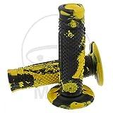 Domino par puños Snake Amarillo/Negro (puños moto)/Couple Handle Grips Snake yellow-black (Knobs Motorcycle)