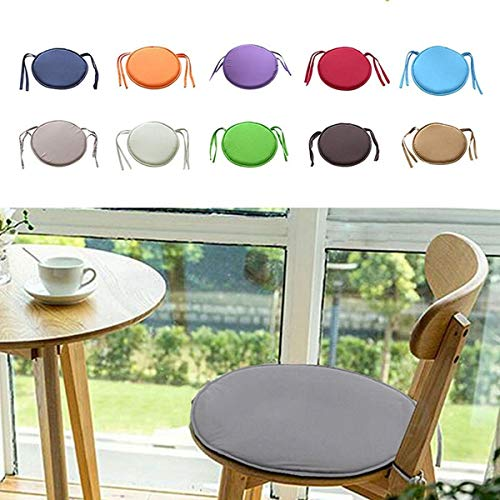 Padded Chair Seat Pads Cushion, Seat Pad, Chair Cushion, Round Cushion, Cover Round Multicolor Garden Patio Home Kitchen Office Chair Indoor Outdoor Dining