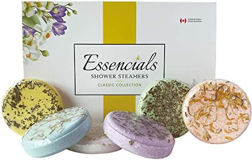 Essencials Shower Steamers Bombs Aromatherapy Vapor Tablets Variety Pack of 6 Handcrafted Vaporizing product image