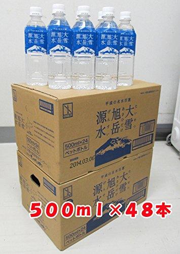 北海道 大雪旭岳源水 500ミリリットル48本セット