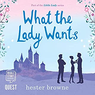 What the Lady Wants                   De :                                                                                                                                 Hester Browne                               Lu par :                                                                                                                                 Lara J. West                      Durée : 13 h et 28 min     Pas de notations     Global 0,0
