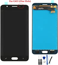 LCD Display Screen Digitizer Touch Panel Assembly Replacement for Galaxy J7 Prime 2 2018 /Galaxy J7 Prime 2018 /On7 Prime 2018 G611 SM-G611F SM-G611F/DD G611FF/DS G611M/DS Black