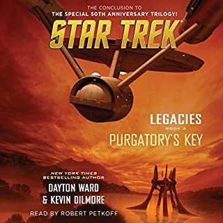 Purgatory's Key     Star Trek: Legacies, Book 3              De :                                                                                                                                 Dayton Ward,                                                                                        Kevin Dilmore                               Lu par :                                                                                                                                 Robert Petkoff                      Durée : 11 h et 7 min     1 notation     Global 4,0