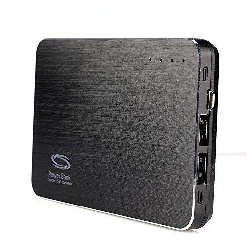 Nanotrix® LotusHD S2 Black Edition versteckte Powerbank Kamera mit Bewegungsmelder - getarnte Mobile Überwachungskamera Spycam