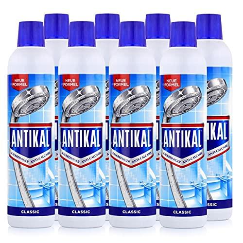 Antikal Kalkreiniger Flasche 750ml - Entfernt hartnäckige Kalkbeläge (8er Pack)