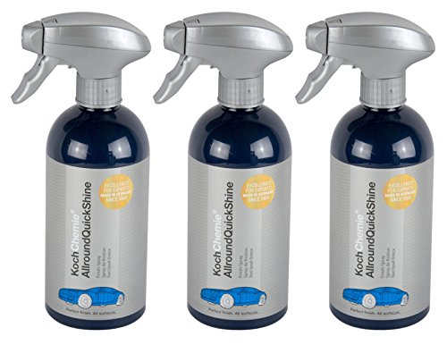 Koch Chemie 3X Allround Quick Shine Finish Cockpitreiniger Cockpitpflege 500 ml