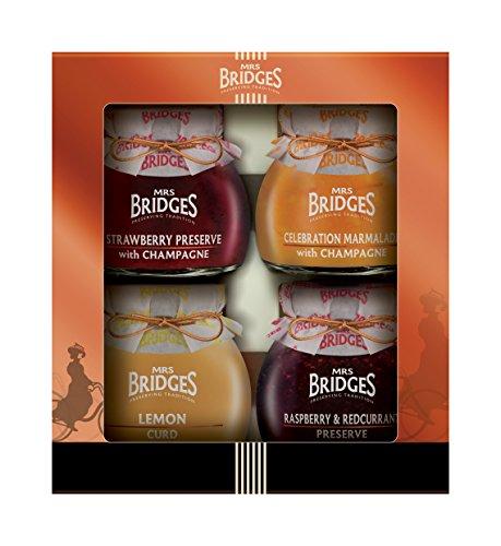 Mrs Bridges Luxury Selection 4 Jar Gift