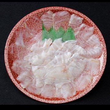 天然 鯛の薄造り1〜2人前90g×2皿 島根大田鮮魚市場 旨みたっぷり 刺身よりも旨い高級薄造りだから味わえる旨味 日帰り漁のうまみをご堪能ください