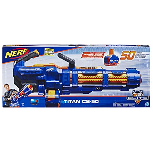 Nerf Elite E2865EU4 NER Elite Titan CS-50 Spielzeug Blaster, Mehrfarbig