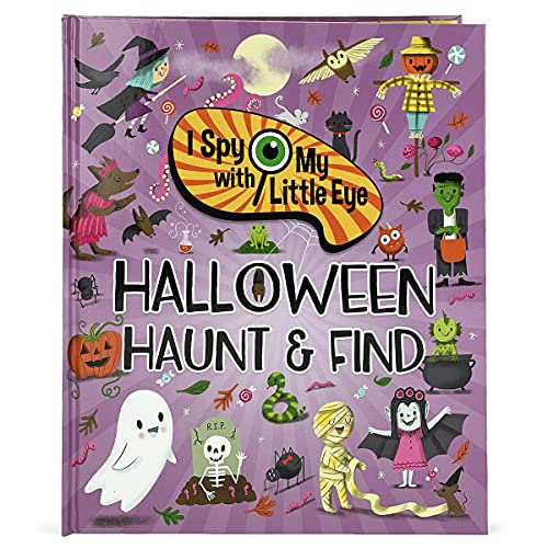 Halloween haunt & find - i spy with my little eye kids search, find, and seek activity book