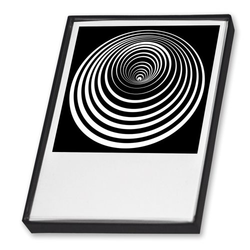 Postkartenset - Op-Art. 25 Postkarten in schner Geschenkbox: Fr Freunde der optischen Kunst und prgnanter Grafik.