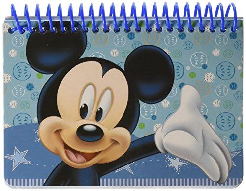 Disney Mickey Autograph Book - Light Blue
