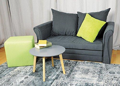 AVANTI TRENDSTORE OLGA- Divano letto, colore antracite, ca. 135x60x71 cm