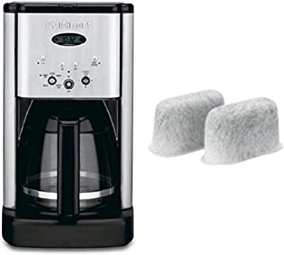 Cuisinart Brew Central 12-Cup Programmable Coffeemaker and Water Filter Bundle