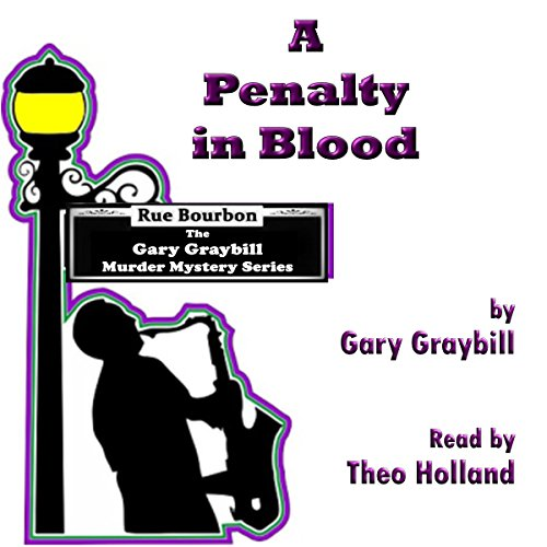 A Penalty in Blood audiobook cover art