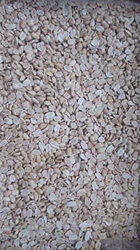 稲葉 ピーナッツ ハーフ ( 二つ割れ ) 10kg( バラ ) 無塩 業務用