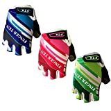 Product Image of the FINGER TEN Kids Cycling Gloves Padded Boy Girl Youth, Outdoor Sport Road...