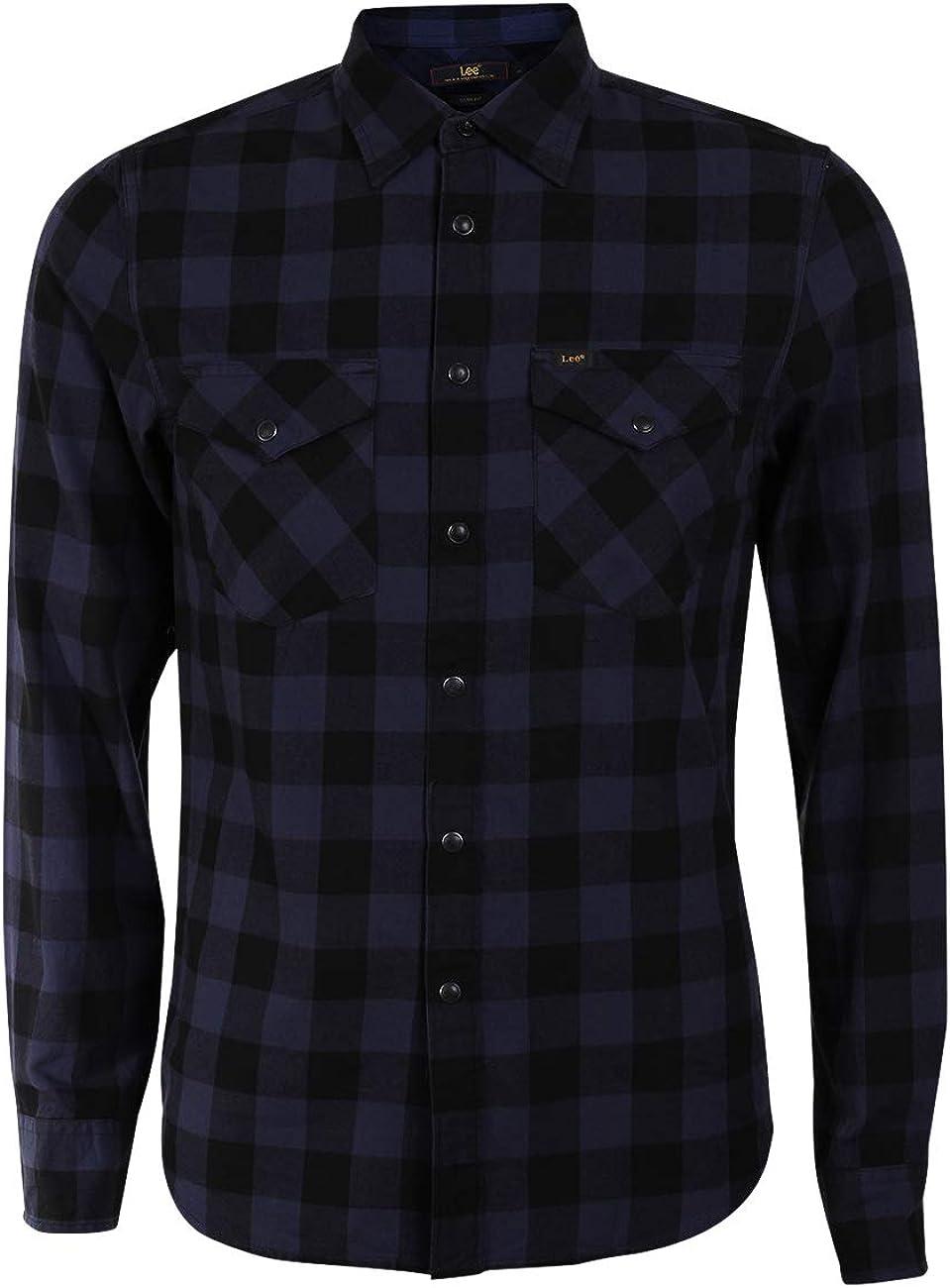 Lee Western Shirt Camisa Manga Larga para Hombre
