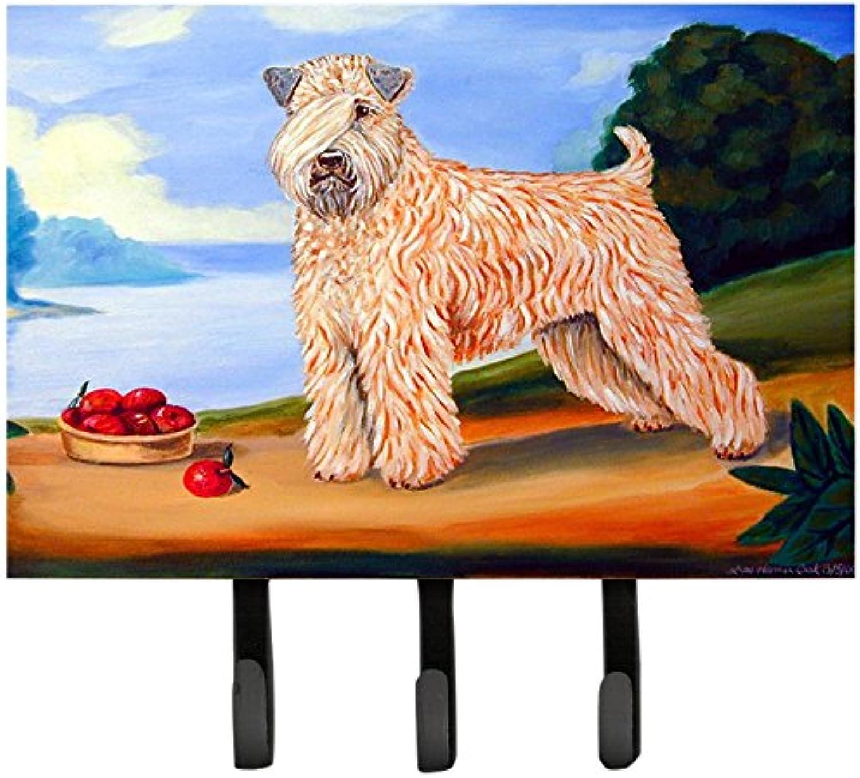 Caroline's Treasures 7509TH68 Wheaten Terrier Soft Coated Leash Holder or Key Hook, Large, Multicolor