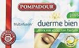 Pompadour - Té Duerme Bien Plus - Multifusión - 20 bolsitas - [pack de 3]