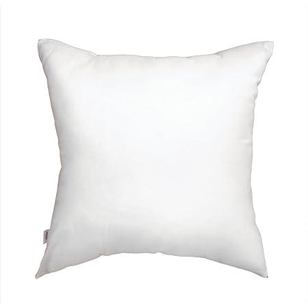 日本製ヌードクッション 中綿:羽毛のような肌触り 帝人クリスター使用 角型45×45cmカバー用 背当てタイプ