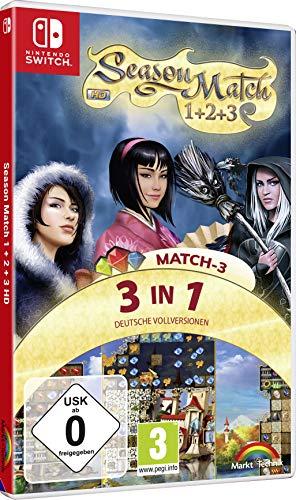 Season Match 1 + 2 + 3 HD Edition - 3 Spiele in einer Box - Nintendo Switch
