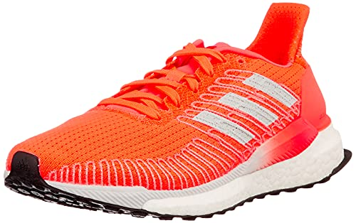 Adidas Solar Boost 19 W, Zapatillas Running Mujer, Rosa (Signal Coral/Dash Grey/Gold Met.), 36 2/3 EU