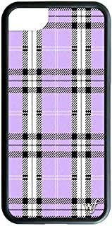 Wildflower Limited Edition iPhone Case for iPhone 6, 7, or 8 (Lavender Plaid)