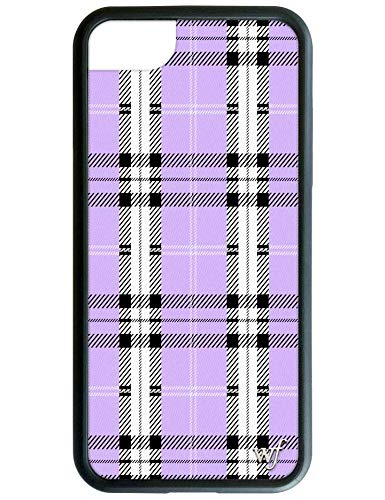 Wildflower Limited Edition Cases for iPhone 6, 7, 8 or SE (Lavender Plaid)