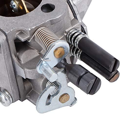 Annadue Carburador de Aluminio de Alta dureza, fácil instalación para Walbro WJ-67A / WJ-76A para Zama C3A-S31