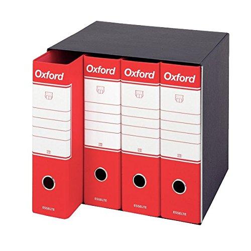 ESSELTE G89 OXFORD gruppo registratori 4 / G85 - Rosso - 390789160