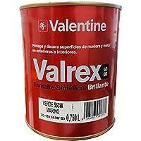 Valentine Valrex Esmalte Sintético Brillante Verde Marino 750 ML