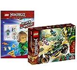 Collectix Lego Set – Lego Ninjago Lloyds 71745 + Lego héroes de Ninjago (cubierta blanda)