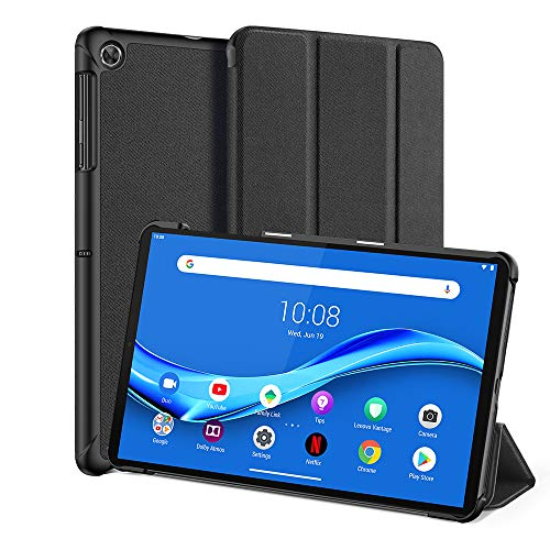 Dux Ducis Protective Case for Lenovo Tab M10 FHD Plus 10.3 Inch (2020 2nd Gen),Lightweight Slim Smart Stand Cover for Lenovo Tab M10 Plus(TB-X606F / TB-X606X, FHD Android Tablet, Black