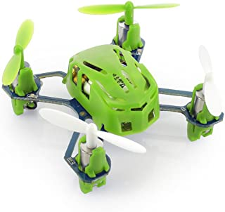 Hubsan Q4 H111 Nano Mini 4-Channel RC Quadcopter with 2.4Ghz Radio System - Green