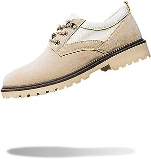 [モノリリ] メンズ 軽量 滑らない ローカット ブーツ 3色展開 (ブラック、オリーブ、カーキ